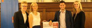 Hannes Wagner, Julia Ney, Christian Winklmeier und Bettina Barnet